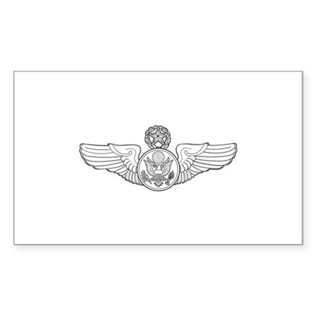 Enlisted Aircrew Rectangle Sticker