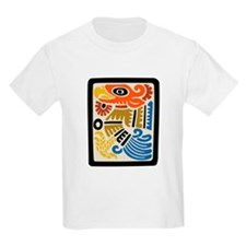 Mexican Aztec Eagle Kids T-Shirt