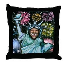 Cool Presidential inauguration Throw Pillow