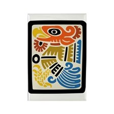Mexican Aztec Eagle Rectangle Magnet