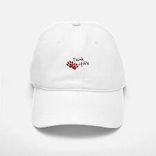 Think Paws-itive (Positive) Baseball Baseball Cap