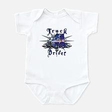 Truck Driver Infant Bodysuit