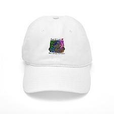 Hippie Black Lab Baseball Cap