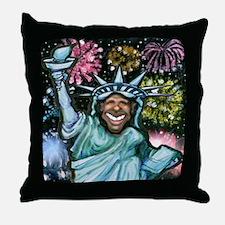 Unique Presidential inauguration 2009 Throw Pillow