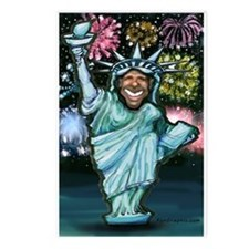 Funny Inauguration day Postcards (Package of 8)