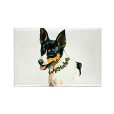 TOY FOX TERRIER Rectangle Magnet