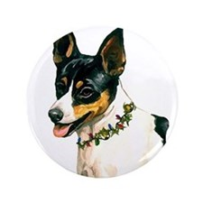 "TOY FOX TERRIER 3.5"" Button"