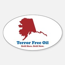 Political Oval Decal