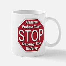 STOP Raping The Elderly Mug