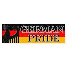 German Pride Bumper Bumper Sticker