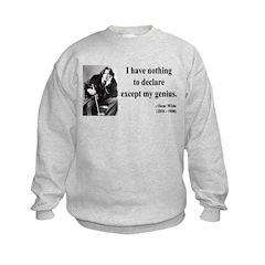 Oscar Wilde 14 Sweatshirt
