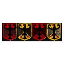 German Crests Bumper Bumper Sticker