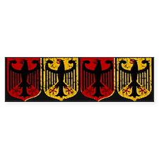 German Crests Bumper Bumper Sticker