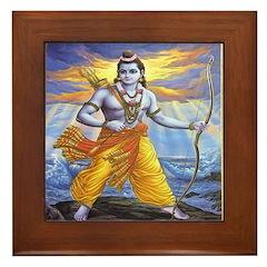 Rama Framed Tile