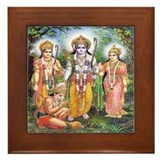 Hanuman Framed Tiles