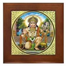 Hanuman Framed Tile