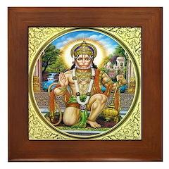 Hanuman Framed Tile