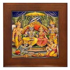 Lakshmana Framed Tile