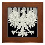 Polska Eagle Framed Tile
