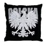 Polska Eagle Throw Pillow