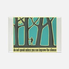 John Muir Quote Rectangle Magnet (100 pack)