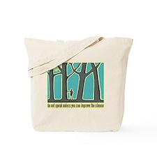 John Muir Quote Tote Bag