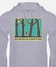 John Muir Quote Jumper Hoody
