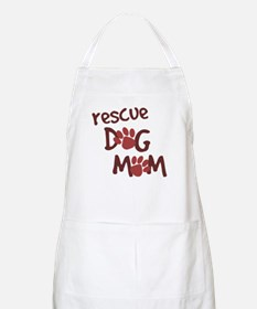 Rescue Dog Mom BBQ Apron
