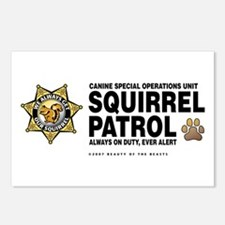 Squirrel Patrol Postcards (Package of 8)