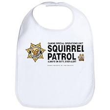 Squirrel Patrol Bib