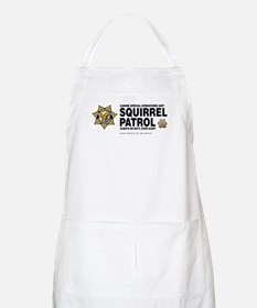 Squirrel Patrol BBQ Apron