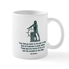 Man at the Wheel Mug