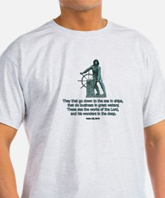 Man at the Wheel T-Shirt