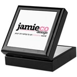 JamieCo Design Logo Keepsake Box