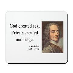 Voltaire 16 Mousepad