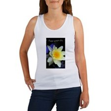 Free Your Chi Water Lily Women's Tank Top