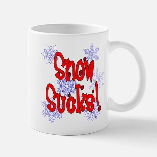 Snow Sucks! /red Mug
