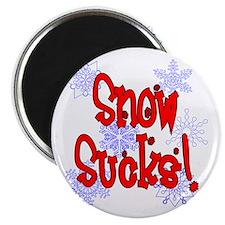 Snow Sucks! /red Magnet