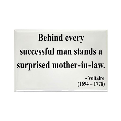 Voltaire 17 Rectangle Magnet (10 pack)