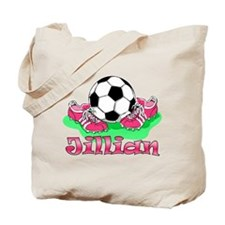 Jillian Soccer Tote Bag