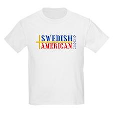 Swedish American Kids T-Shirt