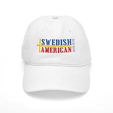 Swedish American Baseball Cap