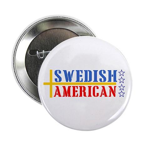 Swedish American Button