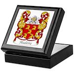 Madeira Family Crest Keepsake Box