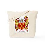 Madeira Family Crest Tote Bag
