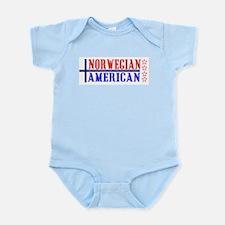 Norwegian American Infant Creeper