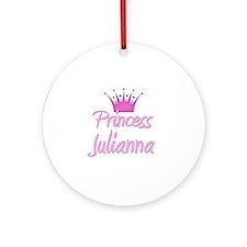 Princess Julianna Ornament (Round)