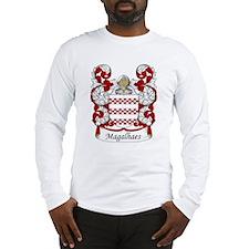 Magalhaes Family Crest Long Sleeve T-Shirt