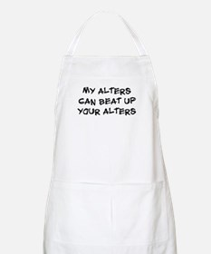 My alters can beat up BBQ Apron