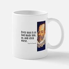 """Cervantes """"Every Man"""" Mug"""